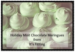 Good Enough to Eat | Holiday Mint Meringues