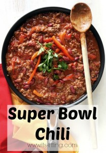 Super Bowl Crockpot Chili
