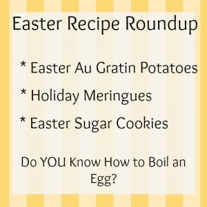 What are YOU Making for Easter Brunch?