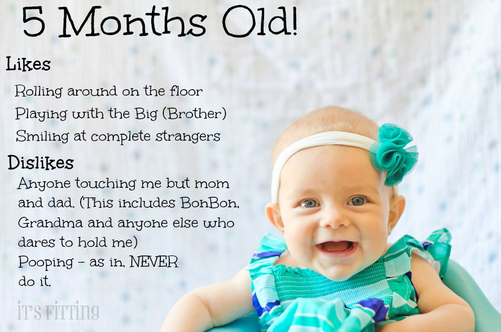 Old Baby Picture Quotes: Baby Photoshoot Ideas 5 Months