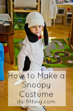 Make Your Own Snoopy Costume