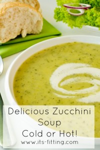 Good Enough to Eat :: Cold Zucchini Soup
