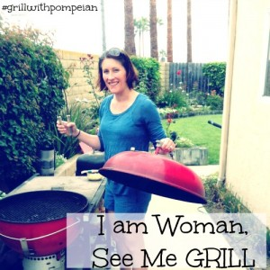 Grill with Pompeian