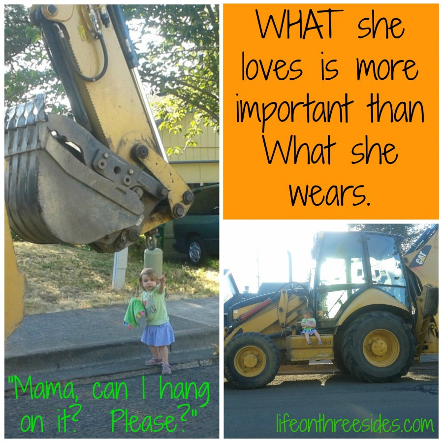 Maggie Tractor Collage