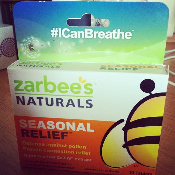 Zarbees Seasonal Allergy