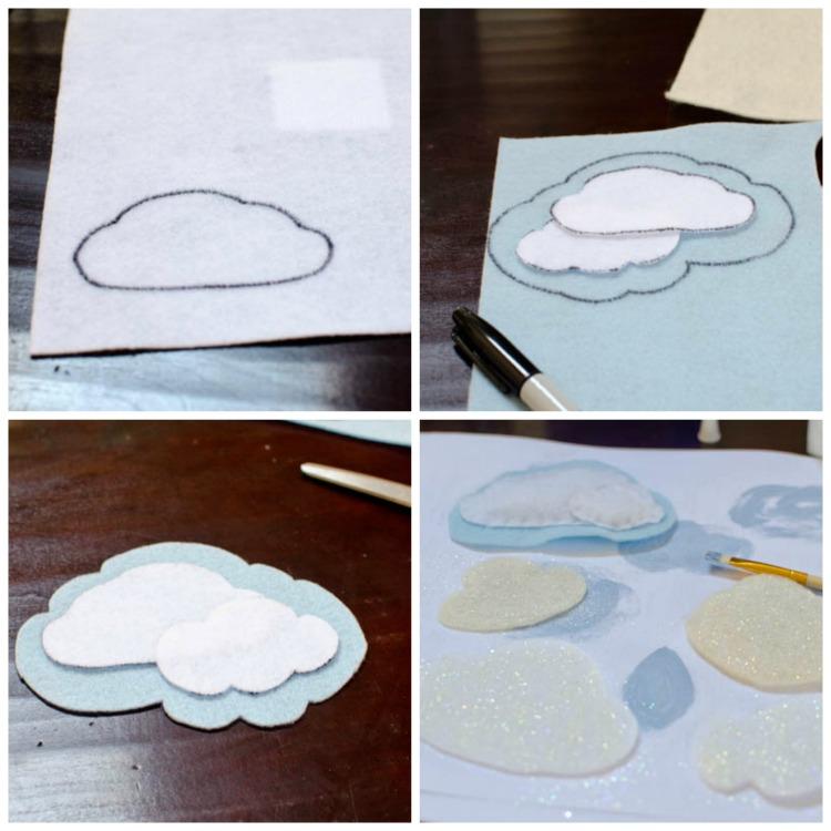 Felt Cloud collage