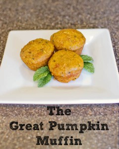 The Great Pumpkin Muffins