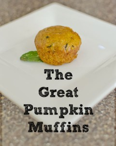 Good Enough to Eat :: The Great Pumpkin Muffins