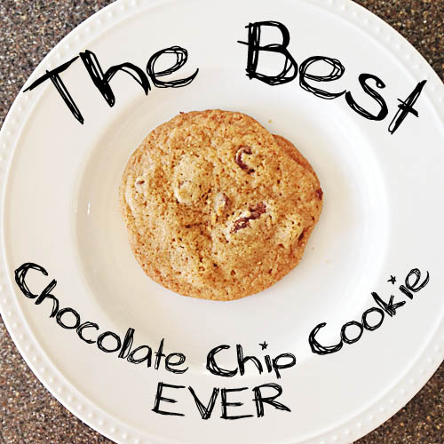 ... Enough to Eat :: The Best Chocolate Chip Cookie Ever - It's Fitting
