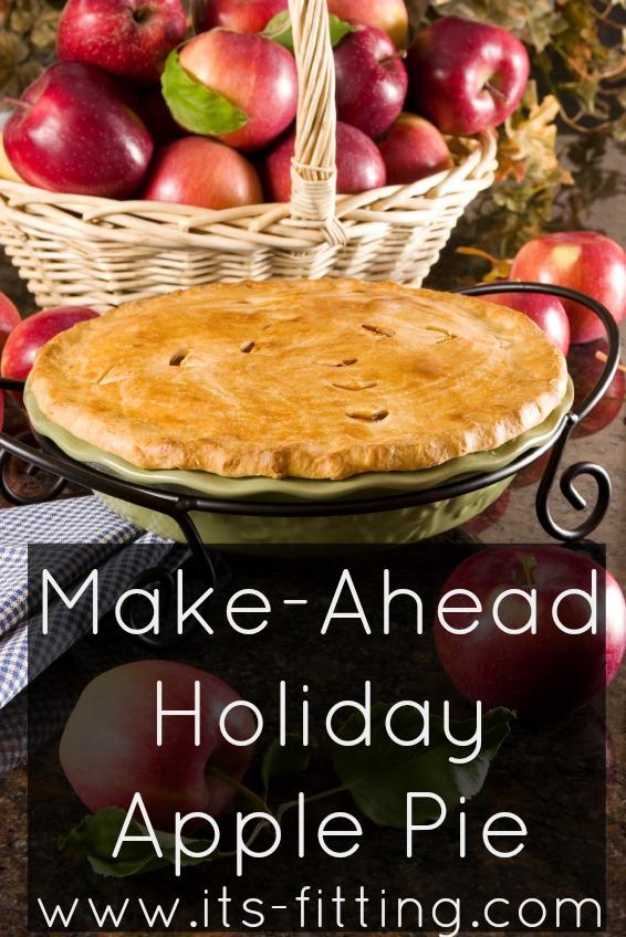 Make Ahead Apple Pie