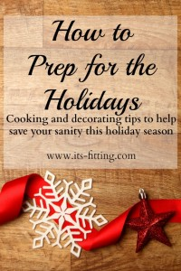 How to Prep for the Holidays | Recipes, Gifts and Decor tips!