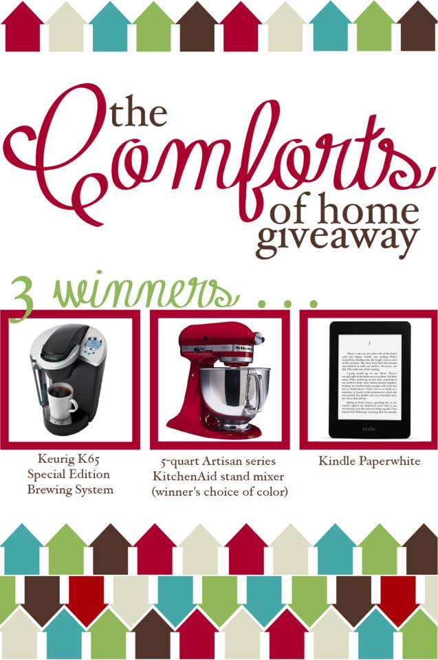 giveaway for a kitchenaid mixer