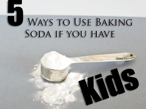 Uses_baking_soda_with_kids