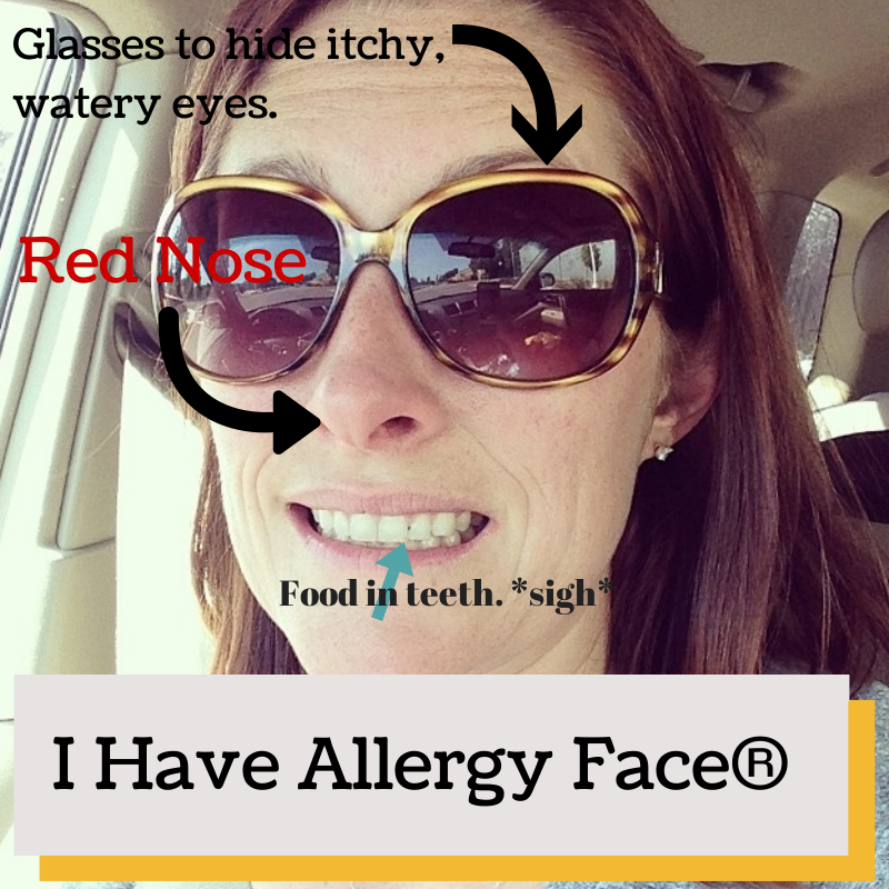 The Face of an Allergy Sufferer