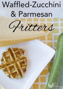 Need More Zucchini Recipes? | Waffled Zucchini and Parmesan Fritters