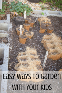 Gardening with Your Kids | Summer Activities & Giveaways