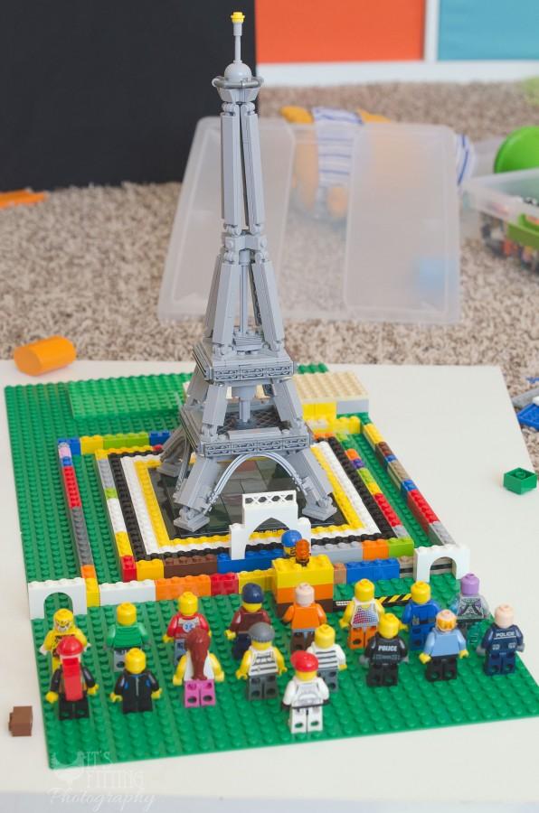 Legos Keep Building Eiffel Tower (1 of 1)