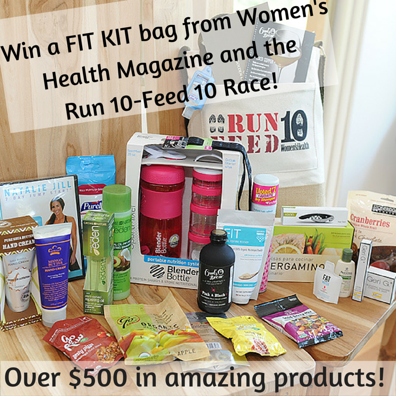 Win a FIT KIT bag from Women's Health and the Run10 Feed 10! (1)